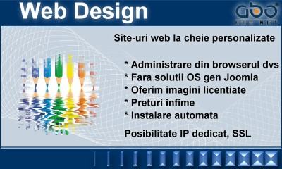 Web Design BUSINESS Hosting gazduire domeniu inregistrare domeniu domeniu .org
